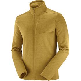 Salomon Transition Full Zip Mid Jacket Men cumin/heather